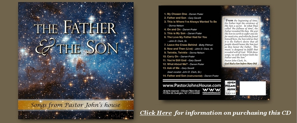 Father and Son CD, From PastorJohnsHouse.com