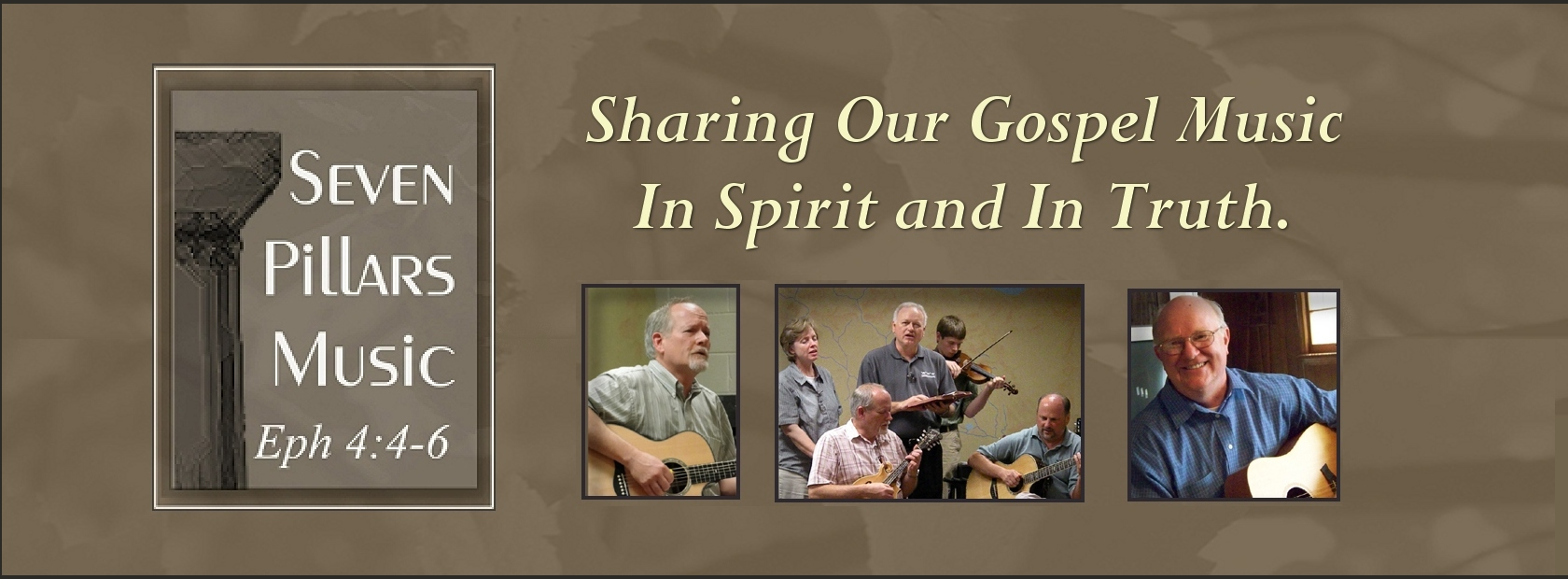 Seven Pillars Music.com - Spirit Filled Gospel Music
